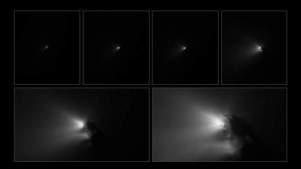 Giotto_approaching_Comet_Halley